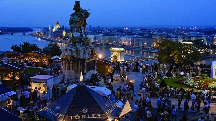Международный винный фестиваль в Будапеште
